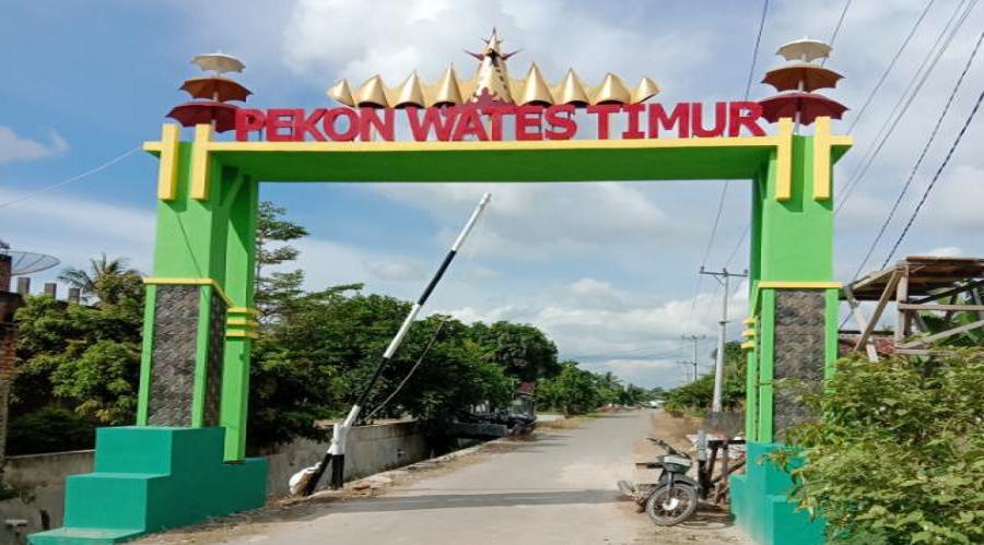 MONITORING dan EVALUASI PEKON WATES TIMUR